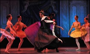 Moscow Festival Ballet performs 'Sleeping Beauty.'