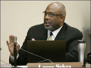 Toledo School Board member Larry Sykes provided the fact finder's report to The Blade.