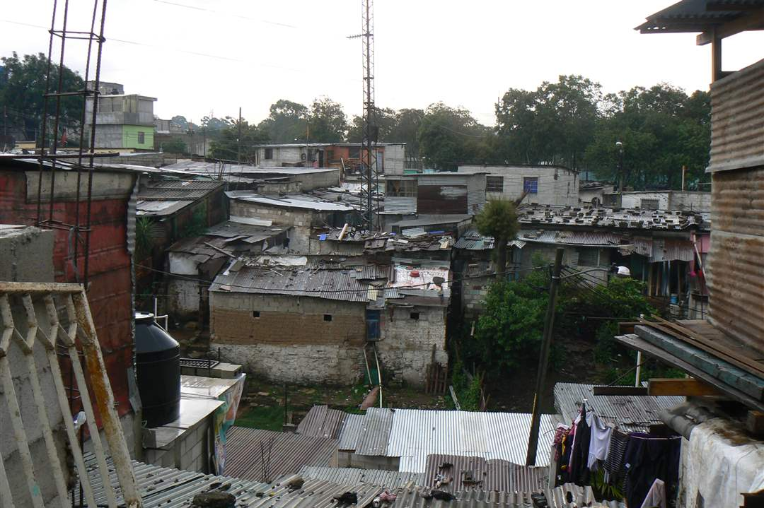 life in guatemala city ghettos the blade