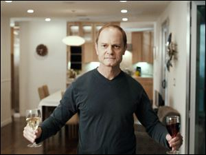 David Hyde Pierce plays Warwick Wilson, the title character, in 'The Perfect Host.'