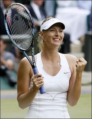 Maria Sharapova's 7-year gap between Wimbledon finals is the longest in the Open era.