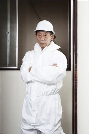 Retiree Yasuteru Yamada, 72, and a longtime friend have formed the Skilled Veterans Corps.