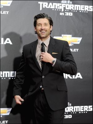"Patrick Dempsey attends the premiere of ""Transformers: Dark of the Moon"" in New York last week."