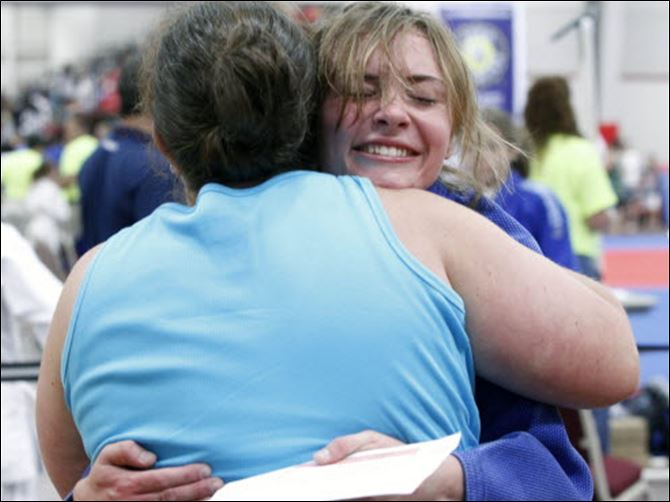 hug for a champion judo championships 07 04 20