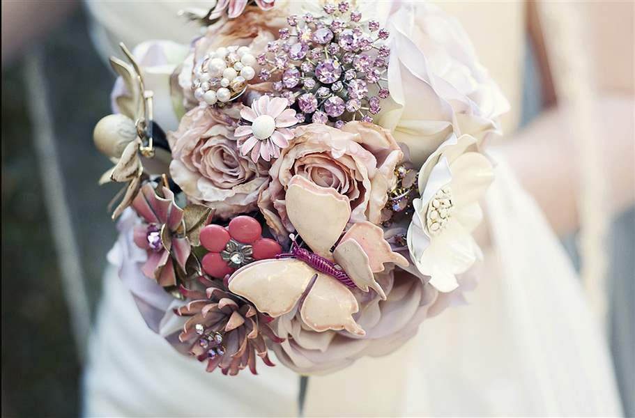 Bouquet-of-brooches