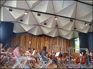 The Albert Einstein Youth Orchestra of Germany will perform Tuesday in Westgate Chapel.