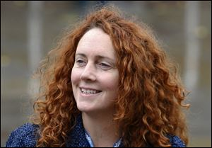 Rebekah Brooks, chief executive of News International, which publishes the News of the World tabloid, arrives at the Conservative Party Conference in Manchester, England, in this Oct. 6, 2009 file photo.