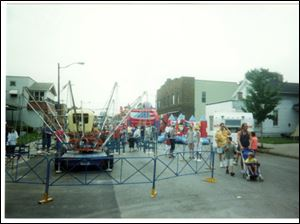 R.W. Bishop's ride creations often made appearances at local festivals.