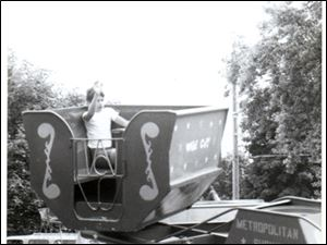 The Wild Cat thrill ride designed and built by R.W. Bishop received a U.S. patent in 1970.