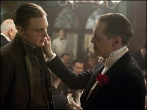 Michael Pitt, left, and Steve Buscemi star in the HBO drama 'Boardwalk Empire,' which received 18 Emmy nominations.