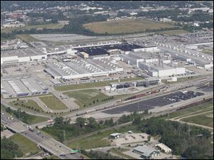 Chrysler's Toledo North Assembly Plant may be the production site for the 2013 Jeep Liberty.