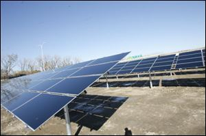 Some of the money in the measure will be sought for solar work in the greater Toledo area, said Frank Calzonetti, vice president for government relations at the University of Toledo.