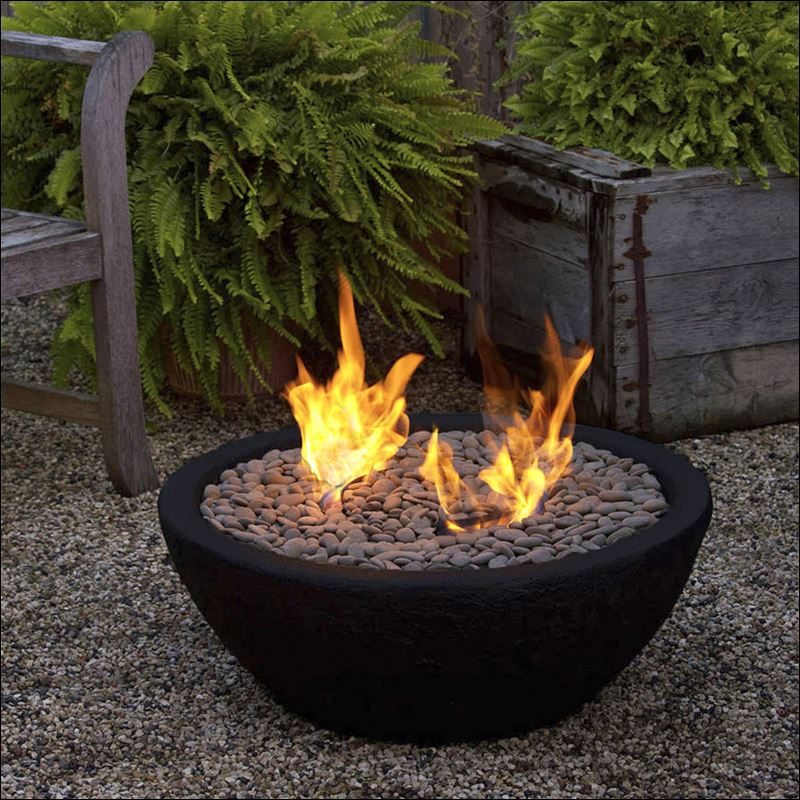 10 essentials for a summer dinner party toledo blade for Outdoor fire bowl