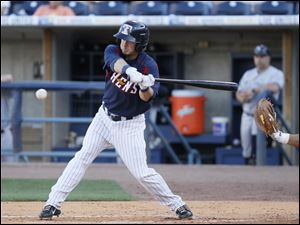 Toledo second baseman Will Rhymes represented the Mud Hens at the Triple-A All-Star Game in Salt Lake City.