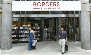 Borders is expected to ask U.S. Bankruptcy Court in New York to let it be sold to liquidators. The company has 339 stores.