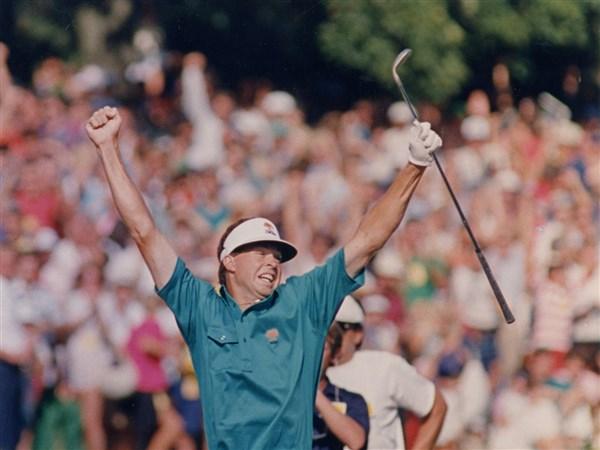 Inverness Champions Bob Tway.