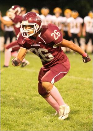 Diego Torres, a foreign exchange student from Pubela, Mexico, played football for Rossford last season. The rising junior was invited to partcipate at Football University's Top Gun camp in Virginia. He will spend his junior year at home but plans to return as a senior to Rossford.