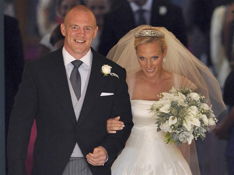 Zara-Phillips-Mike-Tindall-wedded