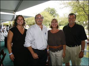 From left, Tami Decator, Chuck Mira, Debbie Gossman, and Dave O'Brien.