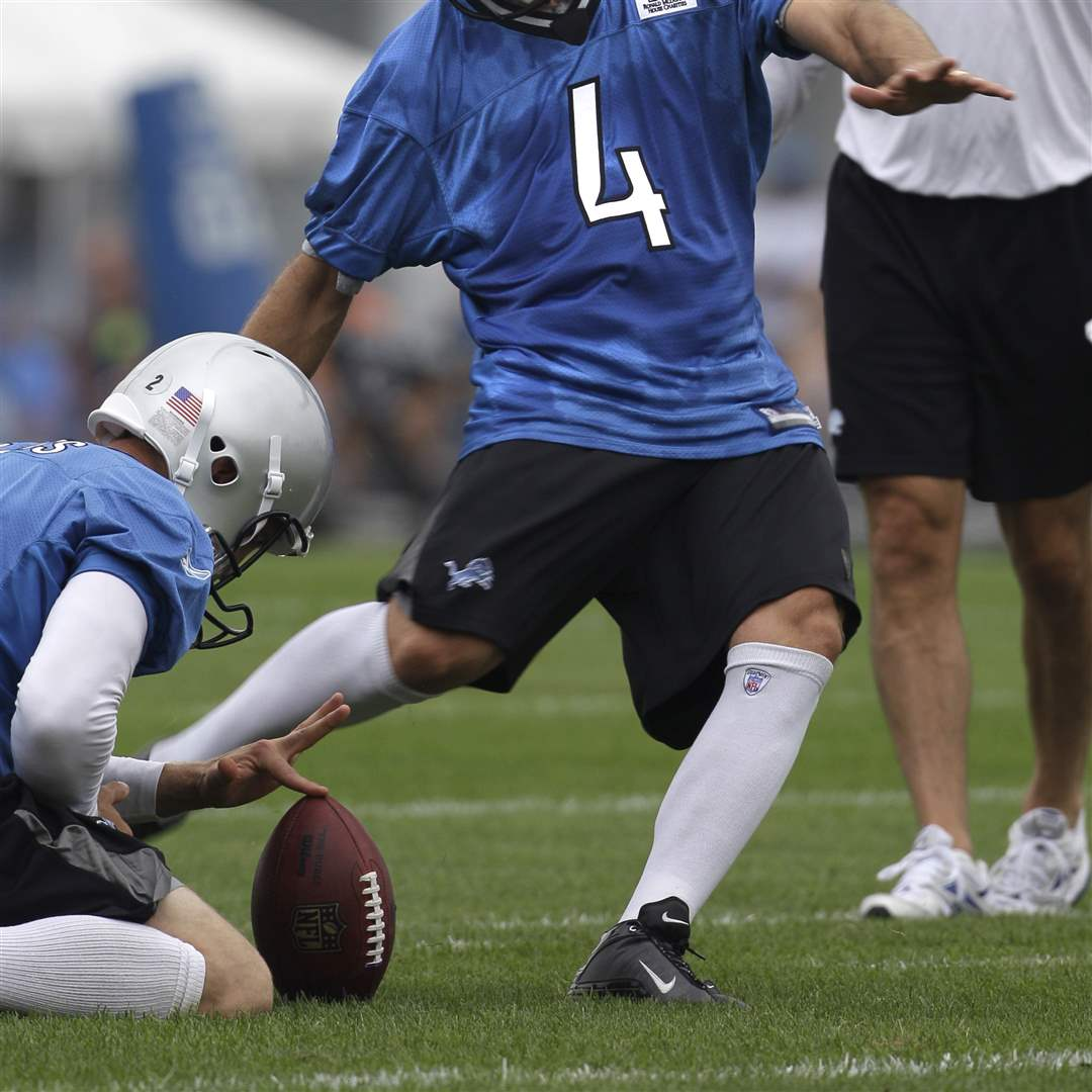 Detroit-Lions-Training-Camp-Jason-Hanson