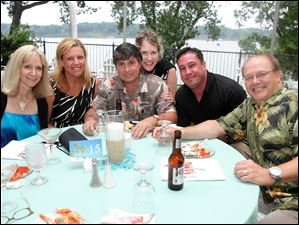 Paula Hofmann, Jenn Solomon, Anthony Braida, Janice Braida, Bill Davis, and Jim Hofmann
