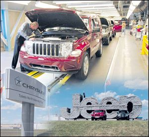 Toledo Assembly Complex currently builds the Jeep Liberty, top, and Dodge Nitro.