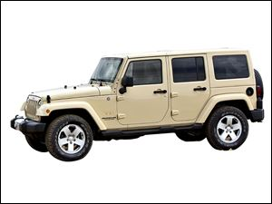 2011 Jeep Wrangler Unlimited Sahara edition.