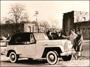 The Jeepster Phaeton was built through 1950.