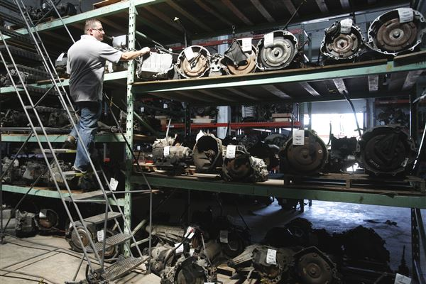 Wholesale Car Parts >> Salvage Firm An Engine For Growth In North Toledo The Blade