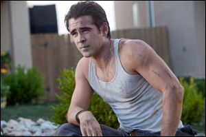Colin Farrell plays the intriguing new neighbor in the horror film 'Fright Night.'