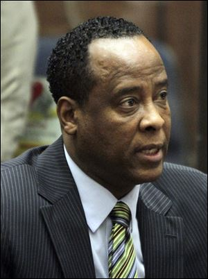 Dr. Conrad Murray, singer Michael Jackson's personal physician, appears in Los Angeles Superior Court where Murray pleaded not guilty to a charge of involuntary manslaughter in the pop star's 2009  death. Attorneys for Dr. Conrad Murray have asked the judge overseeing his involuntary manslaughter case to sequester the jury, citing coverage of Casey Anthony and plans to allow online online broadcasts of the Jackson case.