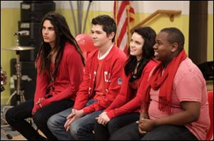 "Samuel Larsen, 19, Damian McGinty, 18, Lindsay Pearce, 20, and Alex Newell, 18 made up the final 4 contestants on the reality competition show on ""The Glee Project"" on Oxygen. Larsen and McGinty both won, earned seven-episode appearances on ""Glee."""