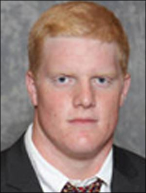 Ohio State Buckeye football player and former St. John's grad Jack Mewhort.