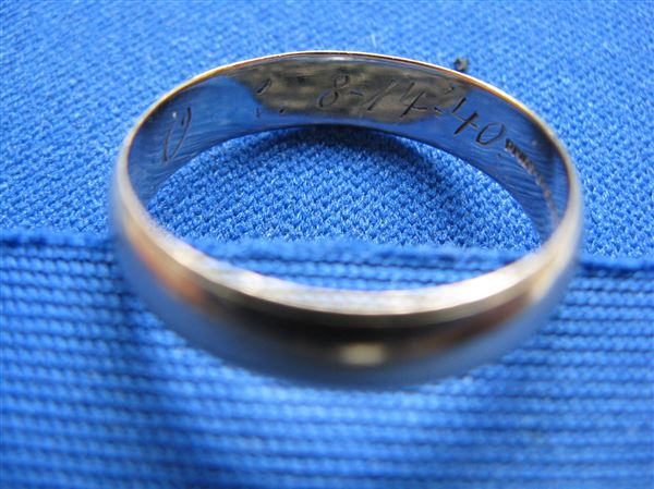 Old Wedding Band Found In Used Michigan Pickup The Blade