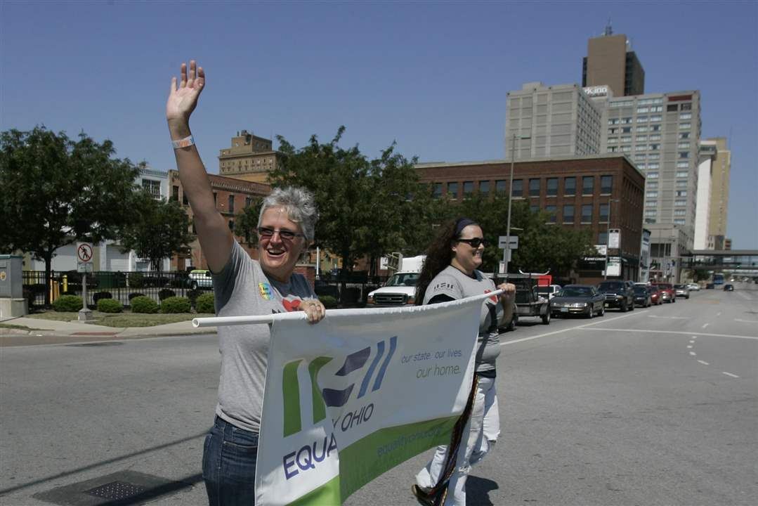 Kim-Welter-of-Equality-Ohio-marches