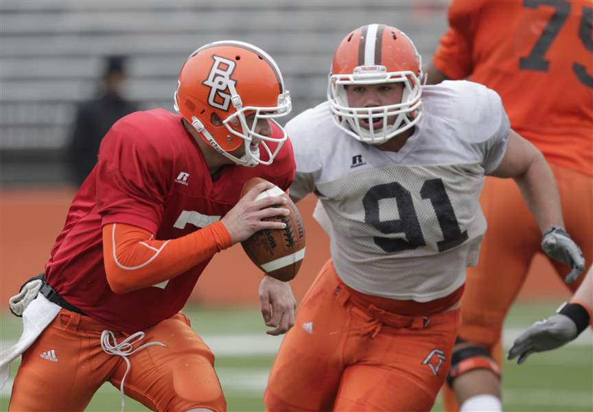 Matt-Schilz-will-start-at-quarterback-for-Bowling-Green-State