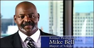In the ad, Mayor Mike Bell says Senate Bill 5 is a needed tool for cities to balance their budgets. He was the first big-city