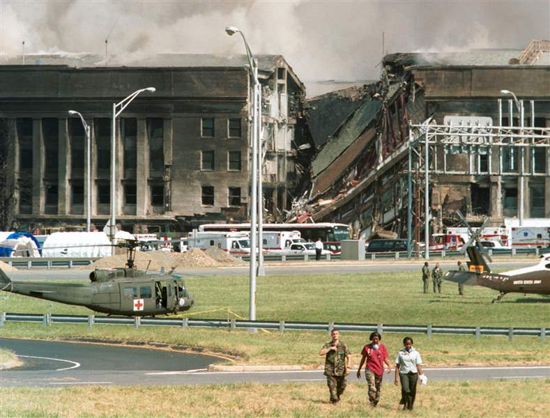 Pentagon-crash-site-September-11