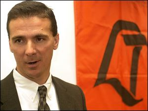 Urban Meyer was in his first year as the head football coach at Bowling Green