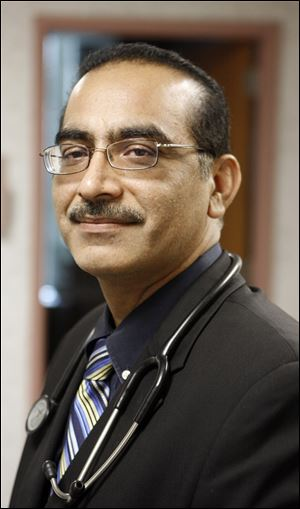 Dr. Faizan Hafeez, a neurologist, says he chose Toledo because of the thriving Muslim community, among other things.