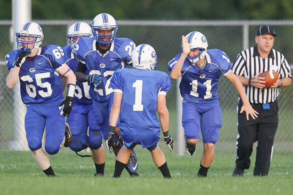 Anthony-Wayne-Josh-Schwerer-celebrates-interception-return