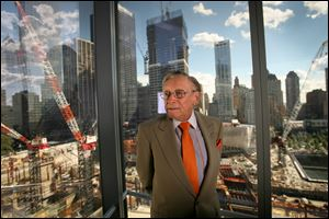 Developer Larry Silverstein assembled a team of some of the world's most-renowned architects to resurrect the World Trade Center site in Manhattan.