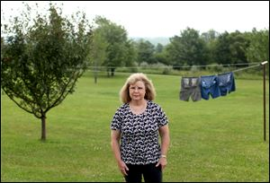 Linda Shepley of Stoystown, Pa., was hanging laundry in her yard on the morning of Sept. 11, 2001, when she saw United Airlines Flight 93 pass low overhead. Mrs. Shepley watched as the plane plummeted from view and then saw the fireball of the crash. She and her husband, Jim, then headed for the crash site five minutes away.