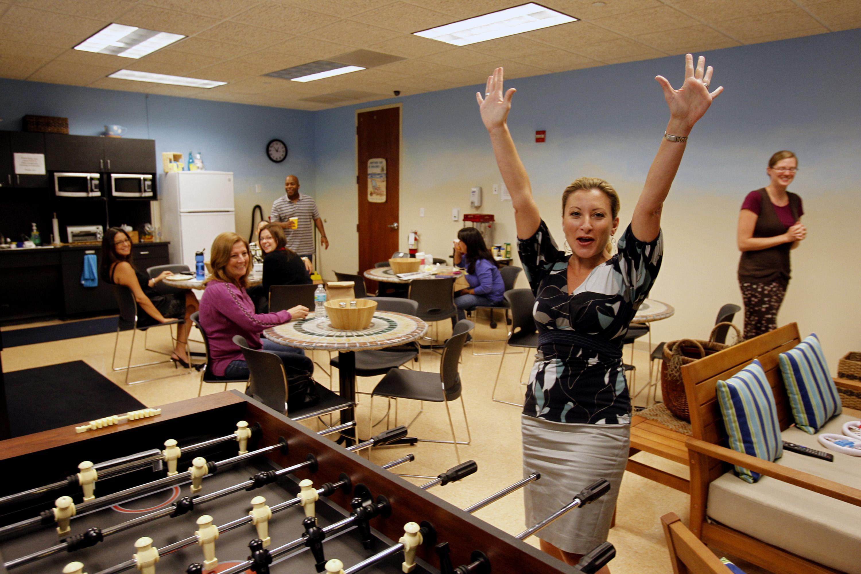More Firms Trim Perks To Basics Taking Away Employee