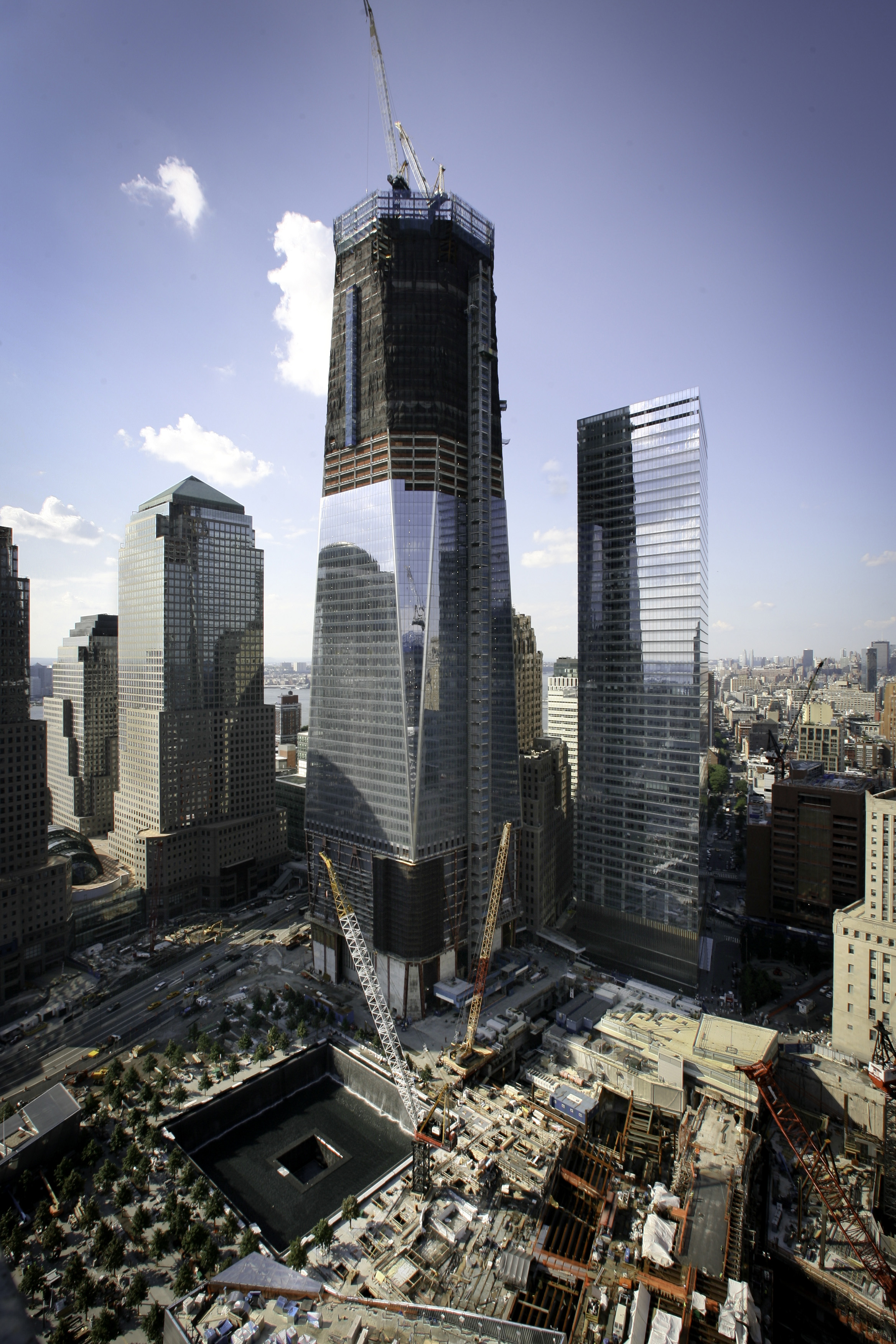 Signs of a city remade emerge at Ground Zero The Blade