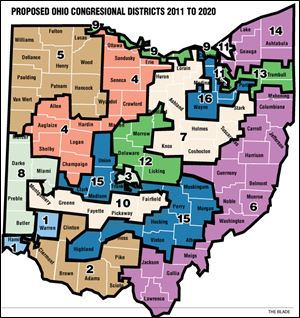 Ohio Congressional Districts 2011-2020