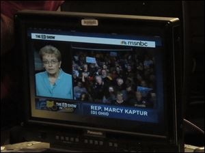 Rep. Marcy Kaptur appears via remote video on 'The Ed Show.