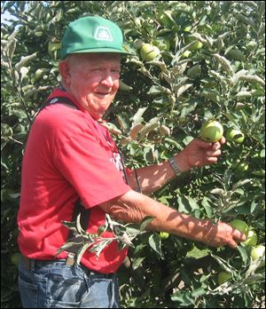 Weed It and Reap In 1990, Carol and Will Hipsher (pictured) moved from Findlay to the farm he was raised on. He began raising fruit and vegetables, and she raised flowers. They planted 100s of trees to create a windbreak (to prevent the soil from blowing away) and as a result of that and other efforts they've been certified as a backyard wildlife site w/ the Ohio Div or Wildlife.