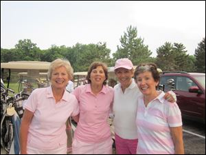 From left, Martha Mewhort, Judy Kuebbler, Jane Keller, and Ann Jane Hileman.