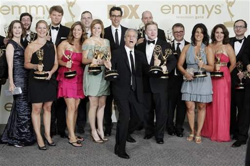 Jon-Stewart-Daily-Show-wins-two-Emmys